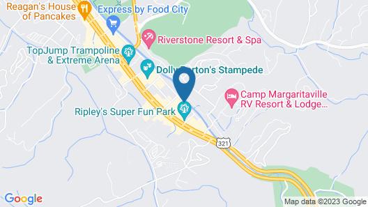 Creekstone Inn Map