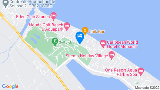 Palmyra Holiday Resort & Spa - Families and Couples Map