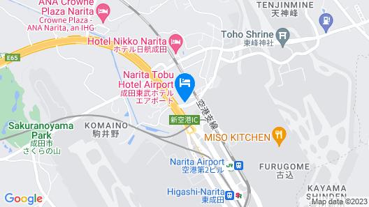 Narita Tobu Hotel Airport Map