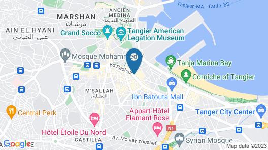 Hotel Rembrandt Map