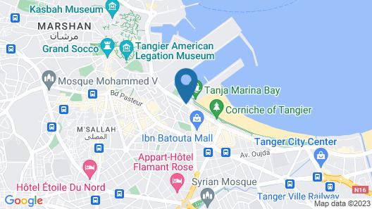 Marina Bay Map