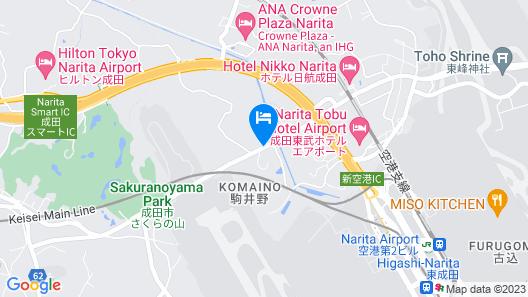 Marroad International Hotel Narita Map