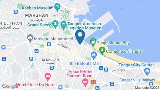 Hotel El  Djenina Map