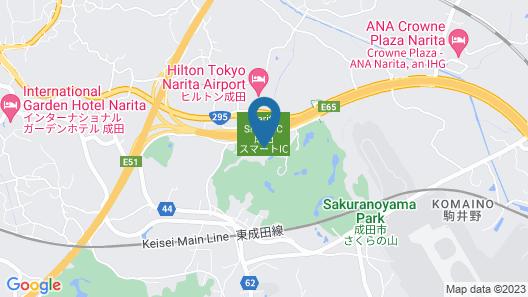 Narita View Hotel Map