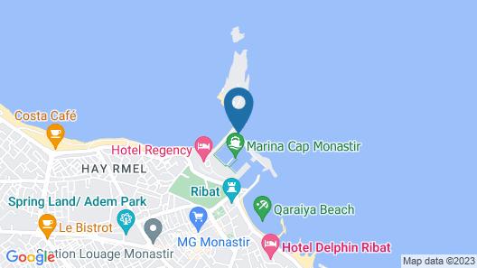 Marina Cap Monastir Appart-hôtel Map