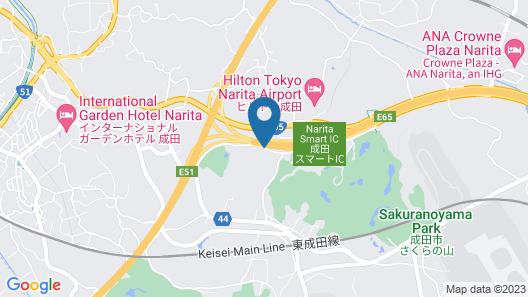 Narita Gateway Hotel Map