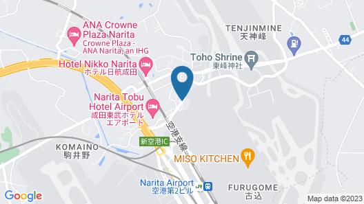 Toyoko Inn Narita Airport Shinkan Map