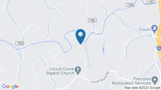 Rivertime - 1 Br Cabin Map