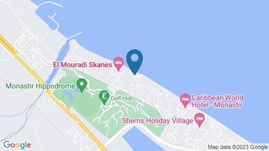 Houda Golf Beach & Aquapark Map