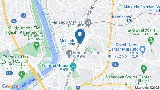 Toyoko Inn Matsudo-eki Higashi-guchi Map