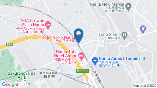 Hotel Nikko Narita Map