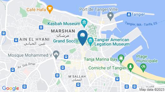 Hotel Marrakech Map
