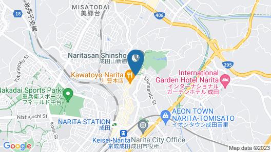 Wakamatsu Honten Map