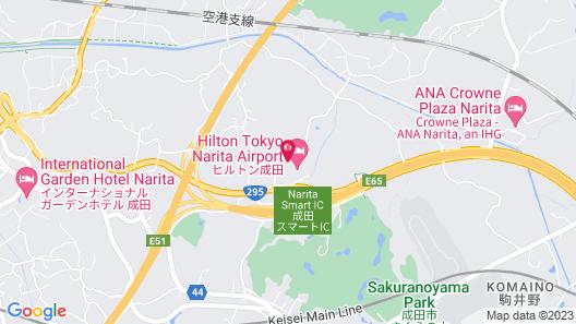 Hilton Tokyo Narita Airport Map