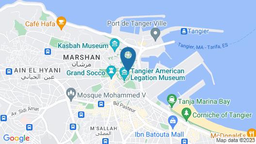Hôtel Mamora Map