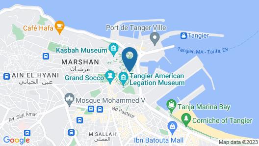 Dar Yasmine Map