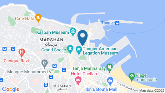 Palais Zahia Map