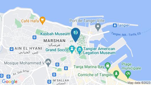 Riad Arous Chamel Map