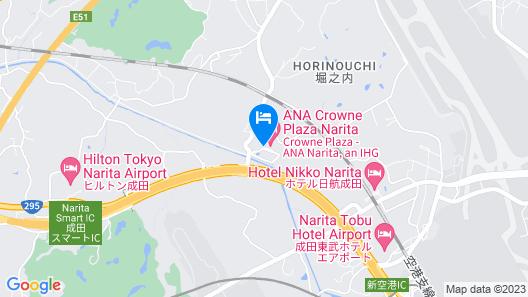 ANA Crowne Plaza Narita, an IHG Hotel Map