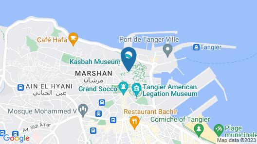 Dar Chams Tanja Map