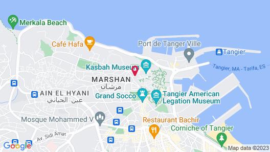 Dar Souran Map