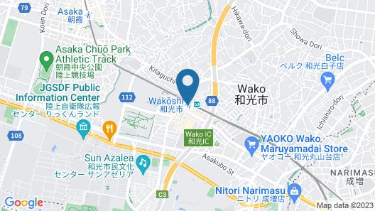 Wakoshi Tobu Hotel Map