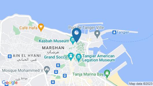 DAR EL HAYET Map