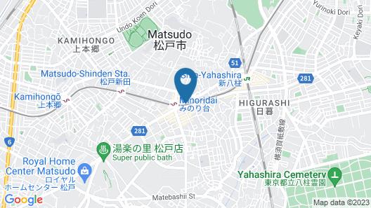 NOMAD Nakamura Heights Map