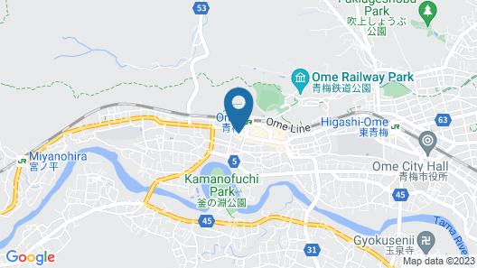 Seiryuu-kibako Guesthouse - Hostel Map