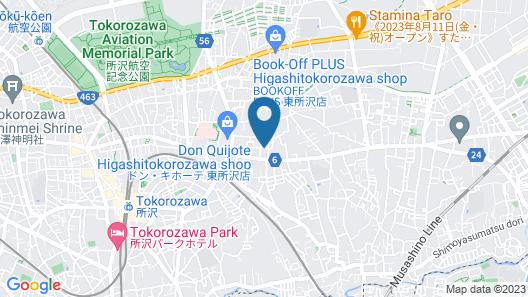 NOMAD Kotobuki Apartment Map