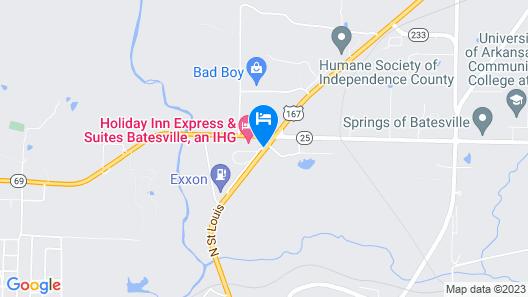 Ramada by Wyndham Batesville Map