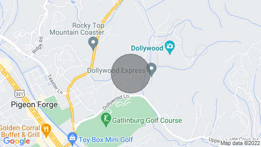 Pigeon Forge Condo w/ Indoor Pool by Dollywood! Map