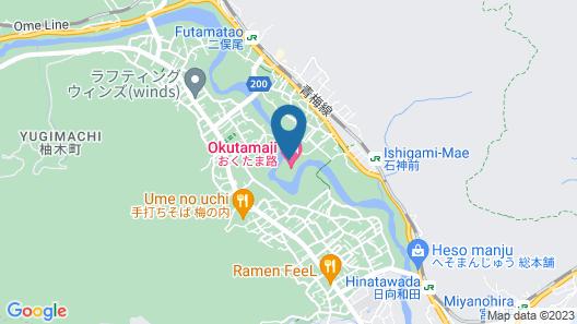 OKUTAMAJI Map