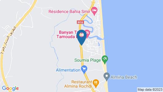 Banyan Tree Tamouda Bay Map