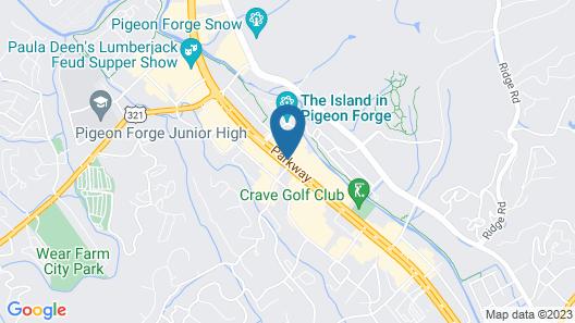 Arbors at Island Landing Hotel & Suites Map
