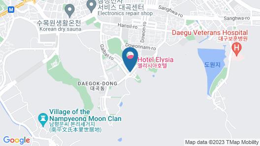 Hotel Elysia Daegu Map