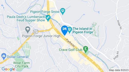 Margaritaville Island Inn Map