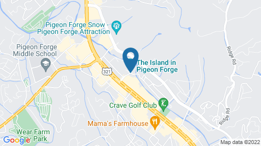 Margaritaville Island Hotel Map