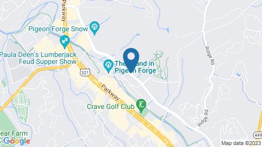 Tru by Hilton Pigeon Forge, TN Map