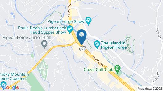 Mountain Vista Inn & Suites Map