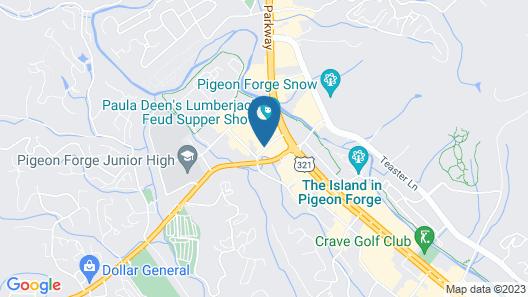 Clarion Inn Near Island Drive Map