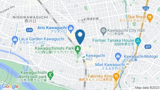 Smile Hotel Kawaguchi Map