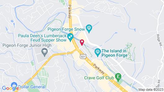 Timbers Lodge Map