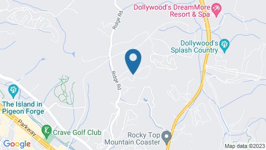 Sunrise Ridge Resort by Diamond Resorts Map