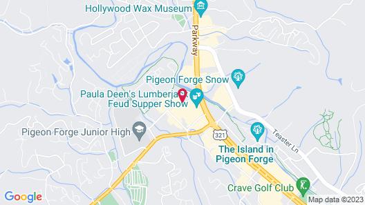 La Quinta Inn & Suites by Wyndham Pigeon Forge Map