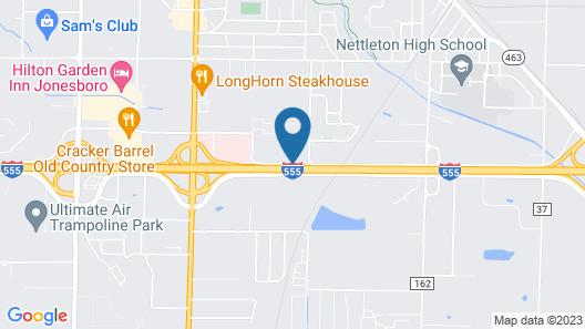Fairview Inn & Suites Map