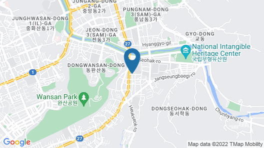 Dowon Guesthouse Map
