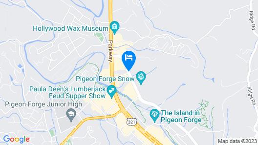 Hampton Inn Pigeon Forge Map