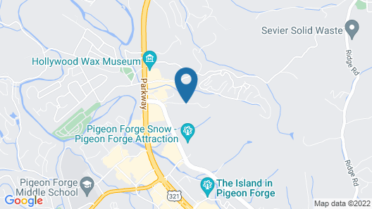 The Lodges at the Great Smoky Mountains Map