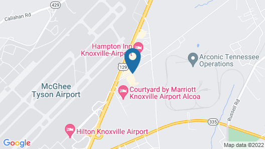 Candlewood Suites Knoxville Airport-Alcoa, an IHG Hotel Map